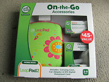 Leapfrog Accessories On-the-go Carrying Case, Car Adapter & $15 Download Card