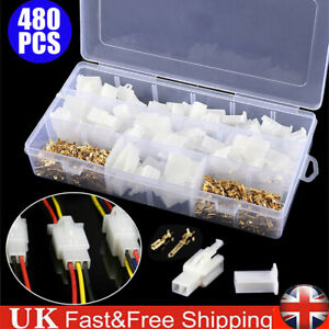 480X 2.8 mm Auto Motorcycle Terminals Car Electrical 2 3 4 6 Pin Wire Connectors