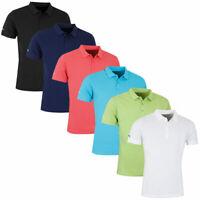 Callaway Golf Mens Cotton Pique Opti-Dri Polo Shirt 49% OFF RRP