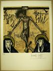"""Bernard Buffet Lithograph """" Le Christ """" Hand Signed Limited 1961 F/S Time Sale"""