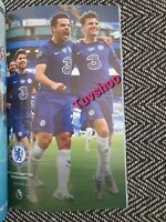 Chelsea v Wolves Wolverhampton LIMITED COLLECTOR'S EDITION Programme 26/7/2020!