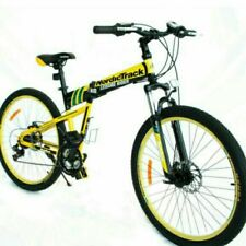 "NordicTrack Folding Bike 26"" Yellow"