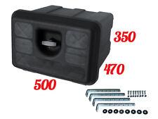 LKW Werkzeugkasten 600x500x650 Staukasten Auflieger Anhänger Werkzeugbox