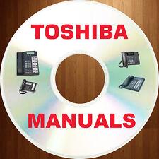 TOSHIBA Phone Telecom SYSTEM Strata DK Stratagy User Install Manual MANUALS CD