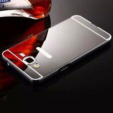 Aluminum Metal Mirror Case PC Back Cover Skin For Samsung Galaxy J3 J5 J7Prime
