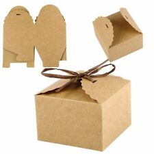 10Pcs Gift Bakery Cookie Favor Packaging Party Candy Box Mini Favor Box