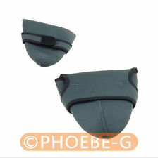 2pcs Neoprene DSLR Camera Padded Soft Pouch Case Set-Small and Medium
