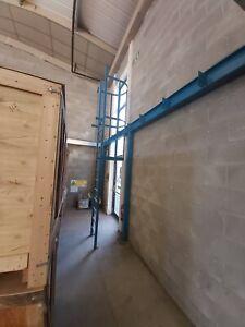 Steel access / escape ladder