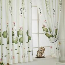 Room Lotus Leaf Door Window Curtain Balcony Drape Panel Sheer Scarfs Valances