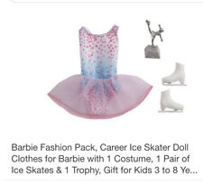 Barbie Ice Skating Outfit, Original Package Manufactured In Canada