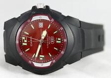 Casio MW-600F-4AV Red Analog Sport Watch Glow Hands 10 Year Battery Resin New