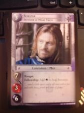 Lord of the Rings CCG Black Rider 12U43 Boromir Defender Minas LOTR TCG NrMt-Mt