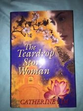 The Teardrop Story Woman: A Novel by Catherine Li-1st US Ed  LIKE NEW Hardcover