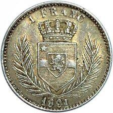CONGO BELGE 1 Franc 1891