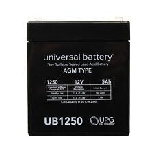 UPG 12V 5Ah UPS Battery for Universal Battery UB1250