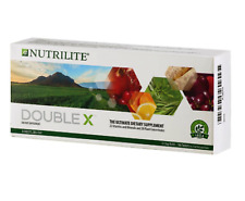 Amway NUTRILITE DOUBLE X Multivitamin Multimineral Concentrate 31 Days Supply