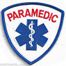 PARAMEDIC - RED LETTERING - IRON ON PATCH