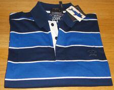 Paul & Shark Natural Stretch Polo Shirt Blue Size XXL SUPERB Quality WOW