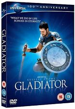 GLADIATOR 100th ANNIVERSARY AUGMENTED REALITY RUSSELL CROWE UK R2 DVD NEW SEALED
