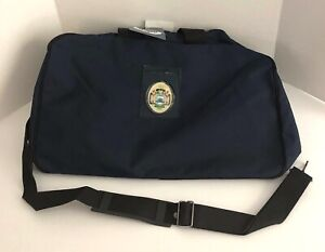 US Naval Academy Soft Luggage Carrying Case Annapolis Collection Navy Blue NEW
