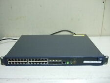 HP JE068A A5120-24G EI 24 port Gigabit Switch W 2 W/ LSPM1CX2P MODULE INSTALLED