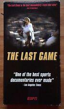 The Last Game (VHS) Documentary High School Football Bucks County FREE DVD
