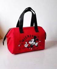 Disney Mickey mouse Lunch box bag handbag keep warm cool storage handbag
