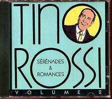 TINO ROSSI - SERENADES & ROMANCES VOLUME 2 - CD ALBUM [471]