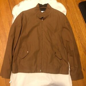 Private White V.C. Cinnamon Ventile Harrington Jacket Corduroy 6 / XL RRP $660