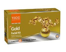 VLCC Natural Gold Single Facial Kit For Luminous Glowing Look 60gm Set of 6