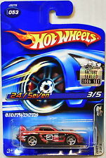 HOT WHEELS 2006 DRIFT KINGS 24/SEVEN #053 RED FACTORY SEALED
