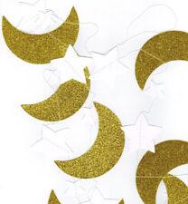 Glitter Moon with Stars Eid/Ramadan Garland Hanging Decoration (5)