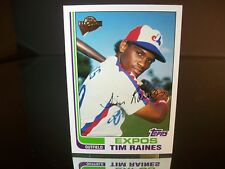 Tim Raines Topps All-Time Fan Favorites 2004 Card #115 Montreal Expos