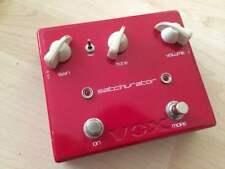 USED VOX SATCHURATOR DISTORTION ELECTRIC GUITAR EFFECT PEDAL JOE SATRIANI