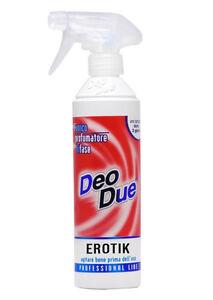 Deo Due EROTIK 500ml DeoDue Deodorante Profumatore ChimiClean ELIMINA ODORI BIFA
