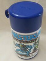 Vintage 1983 Masters Of The Universe He-Man Skeletor Blue Mattel Aladdin Thermos
