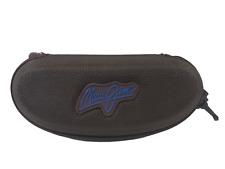 Maui Jim Brown Nylon Hard Clam Shell Zipper Sunglasses Case with Belt Clip