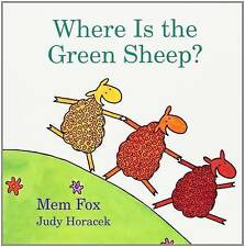 NEW Where Is the Green Sheep? by Mem Fox