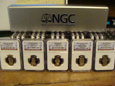 2007-2016 COMPLETE PRESIDENTIAL DOLLAR SET NGC PR70 (ALL 39 COINS).