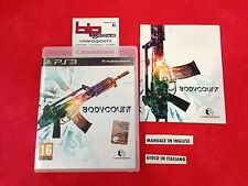 BODYCOUNT PS3 PLAYSTATION 3 PAL USATO