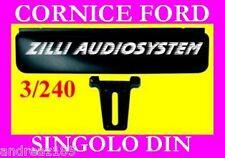 CORNICE AUTORADIO FORD FIESTA DAL 97 AL '03 By Phonocar Nuova