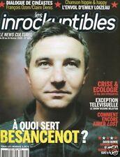 Les Inrockuptibles #689 -BESANCENOT- Bowie, Loizeau,...