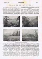 1895 Ealing Mazze da Golf collegamenti Twyford Abbey MR JW Murison London Caledoni piede