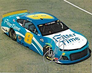 2020 Dale Earnhardt Jr Filter Time iRacing NASCAR Signed Auto 8x10 Photo DG COA