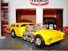 "1957 57 CHEVROLET NOMAD ""GO MAD"" LIMITED EDITION ROD 1/64 HW 4 ENGINE MONSTER"