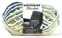 1 Yarnspirations 10.5 Oz Bernat Blanket 10885 Soft Sunshine Green Polyester Yarn