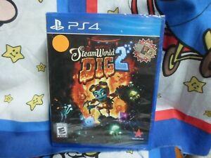 Playstation 4 SteamWorld Dig 2  Game BRAND NEW SEALED