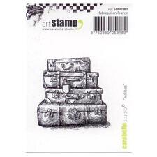 Carabelle Studio SMI0180 Cling Stamp - Valises