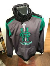 Mens Xlarge Hoodie Pullover with Pouch Pocket Hardcore Lacrosse