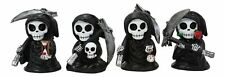 Chibi Grim Reapers With Scythe Hol